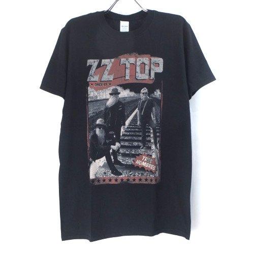 (L) ZZ TOP HOMBRES Tシャツ (新品) オフィシャル 【メール便可】
