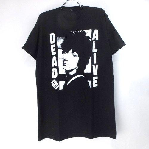 (L) ジョニーサンダース DEAD OR ALIVE Tシャツ (新品) オフィシャル 【メール便可】