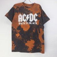 AC/DC ムラ染め Tシャツ 古着【メール便可】