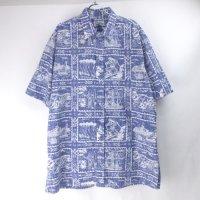 レインスプーナー  ハワイアンシャツ  XXL【メール便可】(sale商品)