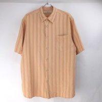 トミーバハマ 半袖 シルクシャツ #10 Tommy Bahama ストライプ【メール便可】(sale商品)