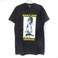 (L) パールジャム CHOICES Tシャツ (新品) 【メール便可】