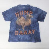 ラクダ アニマル プリント Tシャツ 古着 大きいサイズ【メール便可】
