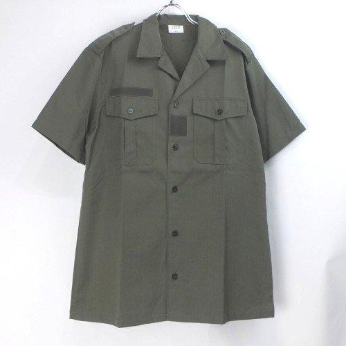 (37-38)フランス軍 半袖 チャドシャツ デッドストック ミリタリー【メール便可】