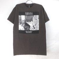 (L) ニルヴァーナ Bleach Tシャツ(新品)【メール便可】