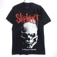 (L) スリップノット   Skull and Tribal  Tシャツ(新品) オフィシャル【メール便可】