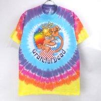 (M) グレイトフルデッド   Ice Cream Cone Kid タイダイ Tシャツ オフィシャル (新品) #1【メール便可】