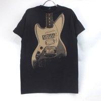 (L) ニルヴァーナ Guitar  ジャグスタング Tシャツ(新品) オフィシャル 【メール便可】
