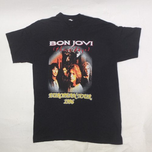 ボンジョヴィ 1996 ツアー Tシャツ 古着【メール便可】