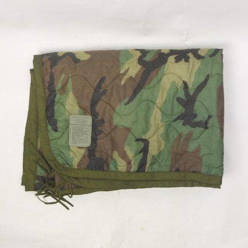米軍   ポンチョ ライナー ウッドランドカモ