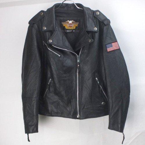 ハーレーダヴィッドソン ダブル ライダース ジャケット レザー USA製 WOMANS XL