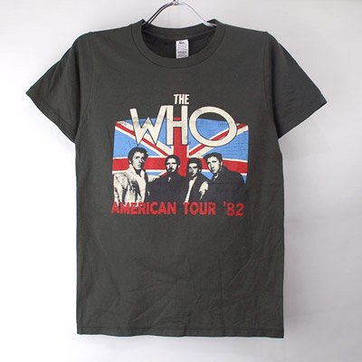 (L)ザ・フー Tシャツ (新品)WHO   【メール便送料無料】