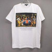 (M/ホワイト) 最後の晩餐 ロックスター Tシャツ(新品)【メール便可】  【メール便可】