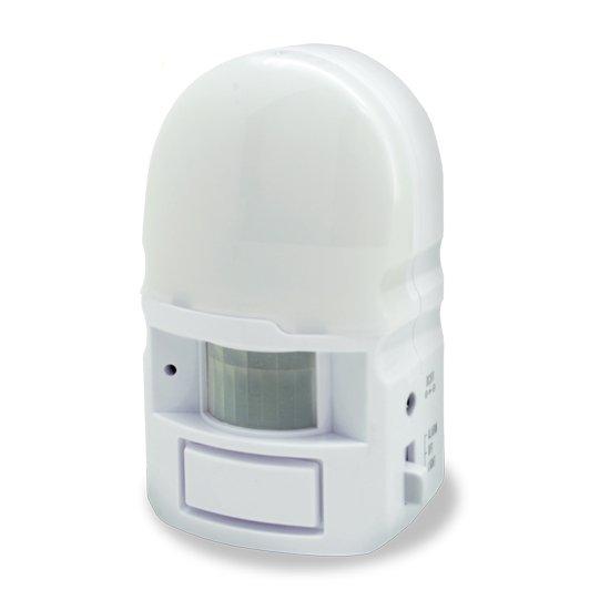 感知センサー LEDライト&アラーム