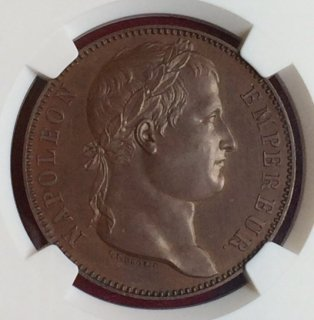 1815 ESSAI FRANCE 5F MAZ-568B COPPER【PF65BN】