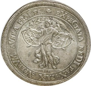 1696 GFN GERMANY TALER NURNBERG DAV - 5668【MS 64】
