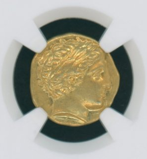 KINGDOM OF MACEDON Philip ii, 359-336 BC AV Stater(8.60g) 【AU Strike:5/5 Sureface:4/5】