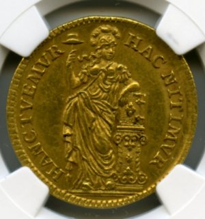 1749 GOLD NETHERLAND 10S HOLLAND【MS62】