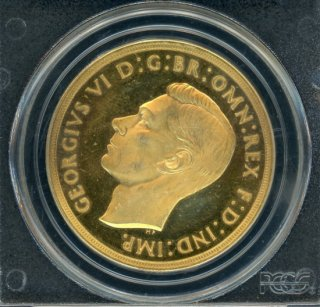 1937 £5 GREAT BRITAIN【PR63DCAM】