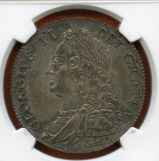 1746 LIMA G.BRITAIN CROWN ESC-125 【MS63】