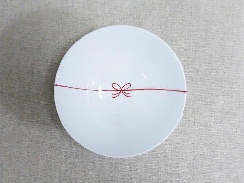 赤結び茶碗