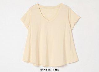VネックフレアTシャツ