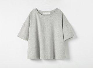 ヤクコットンミラノ天竺 フレアTシャツ