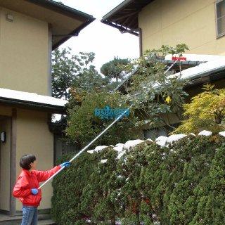 ひさし雪落とし 5.0m(5本連結)