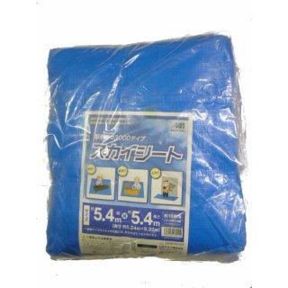 #3000スカイシート5.4m×5.4m  厚手ブルーシート