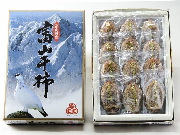 富山ころ柿<9個入>3Lサイズ / 化粧箱入 / 糖度25度以上【今季終了】