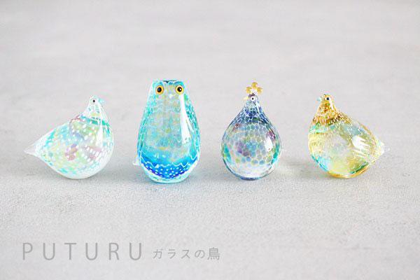 Takamura Glass Works/高村絢子のガラスの鳥