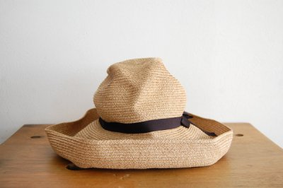 mature ha. / マチュアーハ BOX HAT MBOX-101(mix brown×black 11cm)