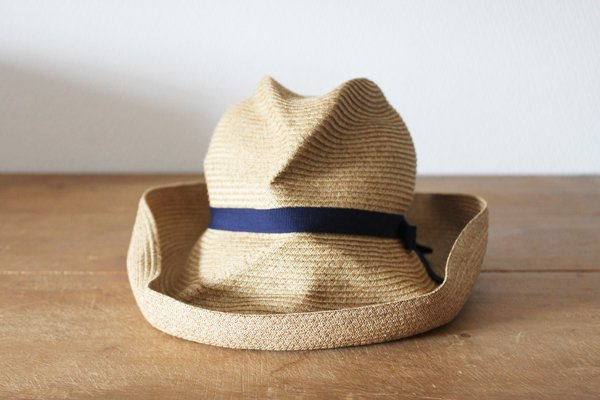 mature ha. / マチュアーハ BOXED HAT MBOX-101(mix brown×navy 11cm)