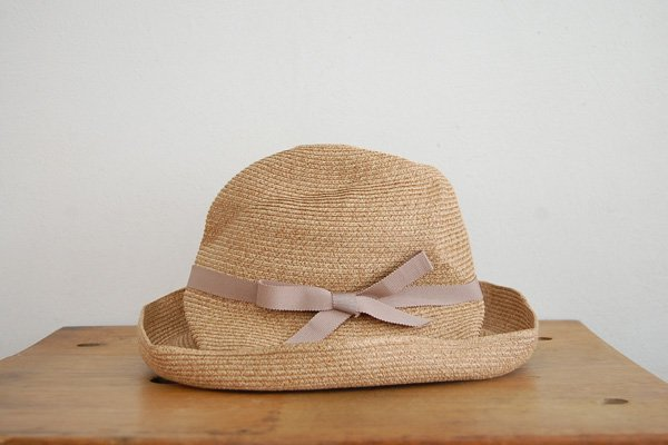mature ha. / マチュアーハ BOXED HAT MBOX-101(mix brown×pink beige 11cm)