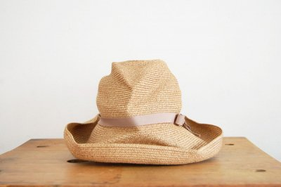 mature ha. / マチュアーハ BOX HAT MBOX-101(mix brown×pink beige 11cm)