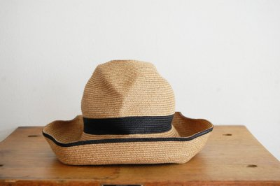 mature ha. / マチュアーハ BOX HAT MBOX-101SWW(mix brown×black 11cm)