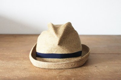 mature ha. / マチュアーハ BOXED HAT MBOX-104(mix brown×navy 7cm)