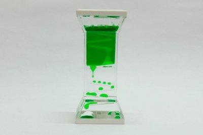 プレイタイマー 約3分 オイル時計 スロープ(緑)