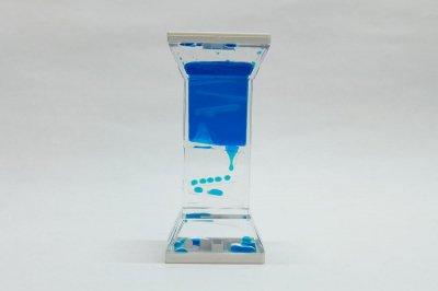 プレイタイマー 約3分 オイル時計 スロープ(青)