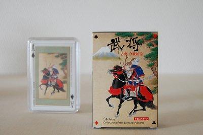 京都・福井朝日堂 浮世絵トランプ「武将」