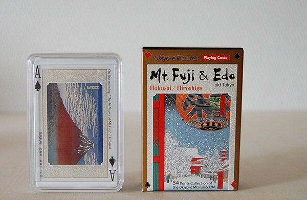 京都・福井朝日堂 浮世絵トランプ「富士と江戸」