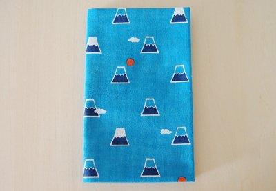 濱文様 手ぬぐい「富士山と雲」