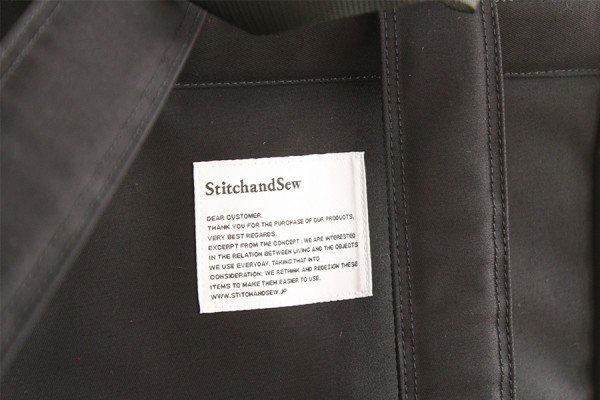 StitchandSewステッチアンドソー 3Wayリュックサック BS301(ブラック)