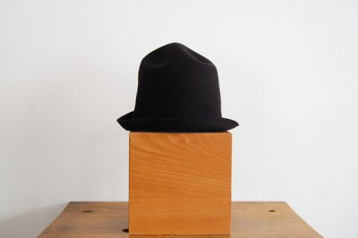 mature ha/マチュアーハ back stitch wool free hat MFEL-1101(black)