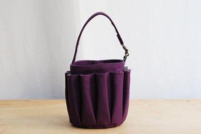 sugaya design labスガヤデザインラボ don't try ツールバッグ(紫)