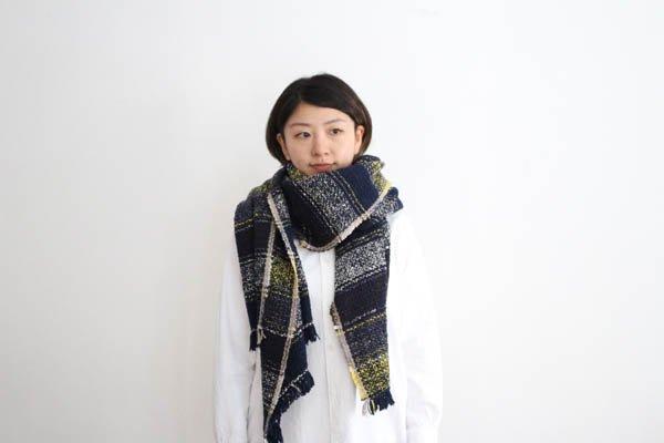 Suno&Morrison/スノ アンド モリソン ガラ紡 ミディアム ストール
