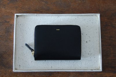 irose イロセ POP-UP MEDIUM WALLET(ブラック)ACC-PU05