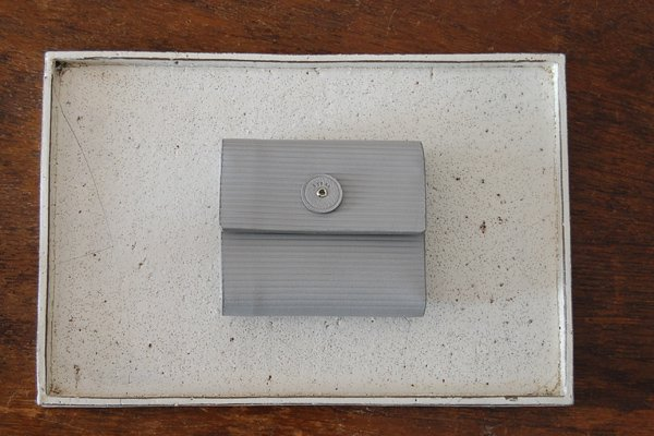 irose イロセ CARDBOARD MINI WALLET ACC-C02(グレー)