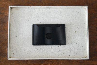 irose/イロセ CARDBOARD PASS CASE ACC-C03(ブラック)