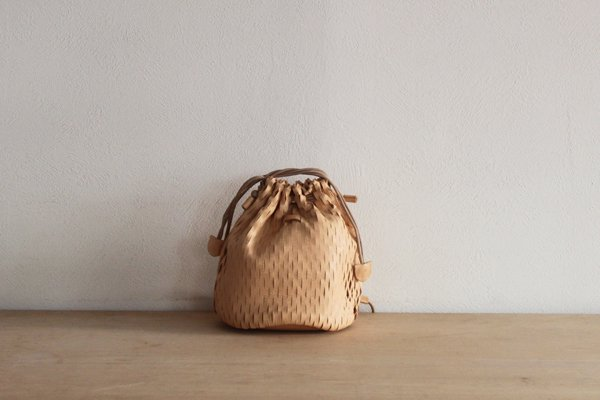 irose イロセ net bucket bag mini BAG-N07(ヌード)